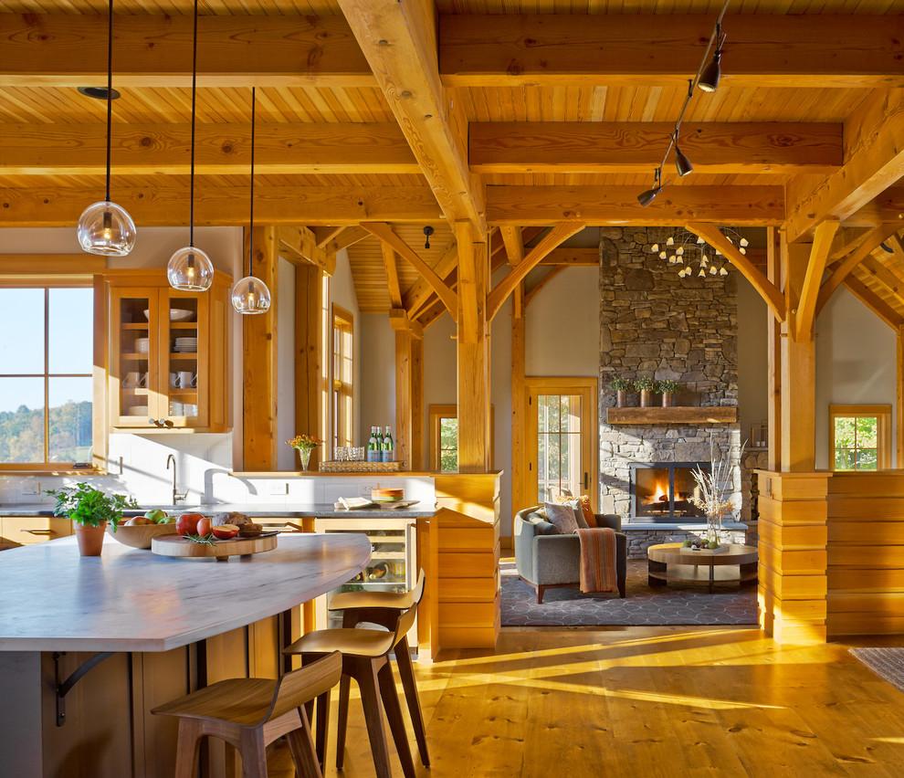Vermont Ski Retreat - Rustic - Kitchen - Burlington - by ...