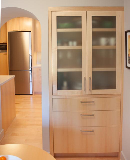 Vertical Grain Maple kitchen - Oakland CA - Modern - Kitchen - san francisco - by Berkeley Mills