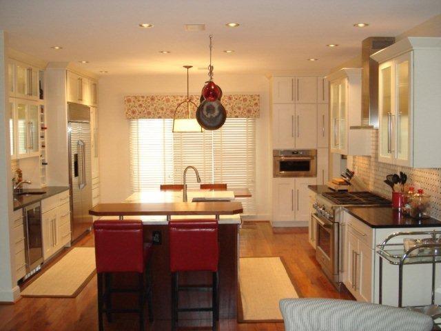 Very Clean Line Sleek Kitchen Modern Kitchen