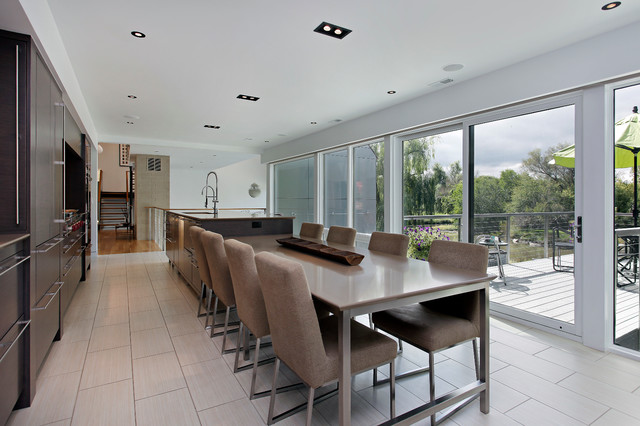 Very contemporary contemporary kitchen chicago by for Very modern kitchens
