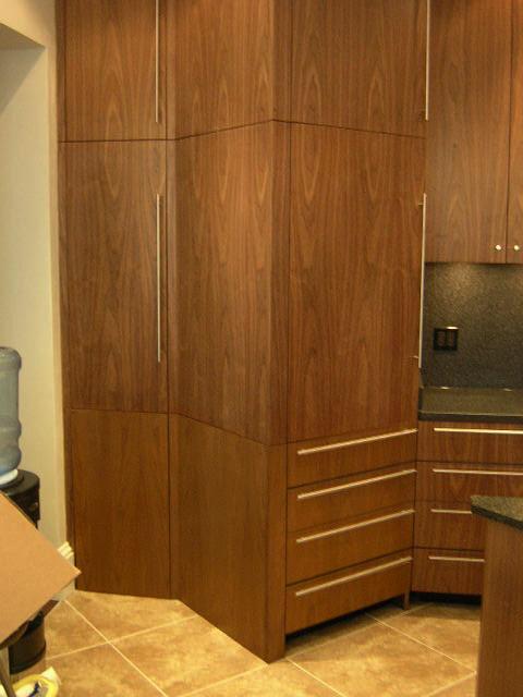 Very modern black walnut kitchen contemporary kitchen for Very modern kitchens