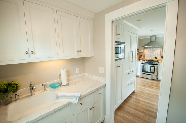 Vesper traditional kitchen portland maine by steinberg custom designs - Kitchen design portland maine ...