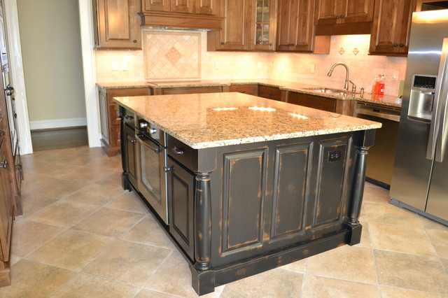 Vestavia New Construction tropical-kitchen