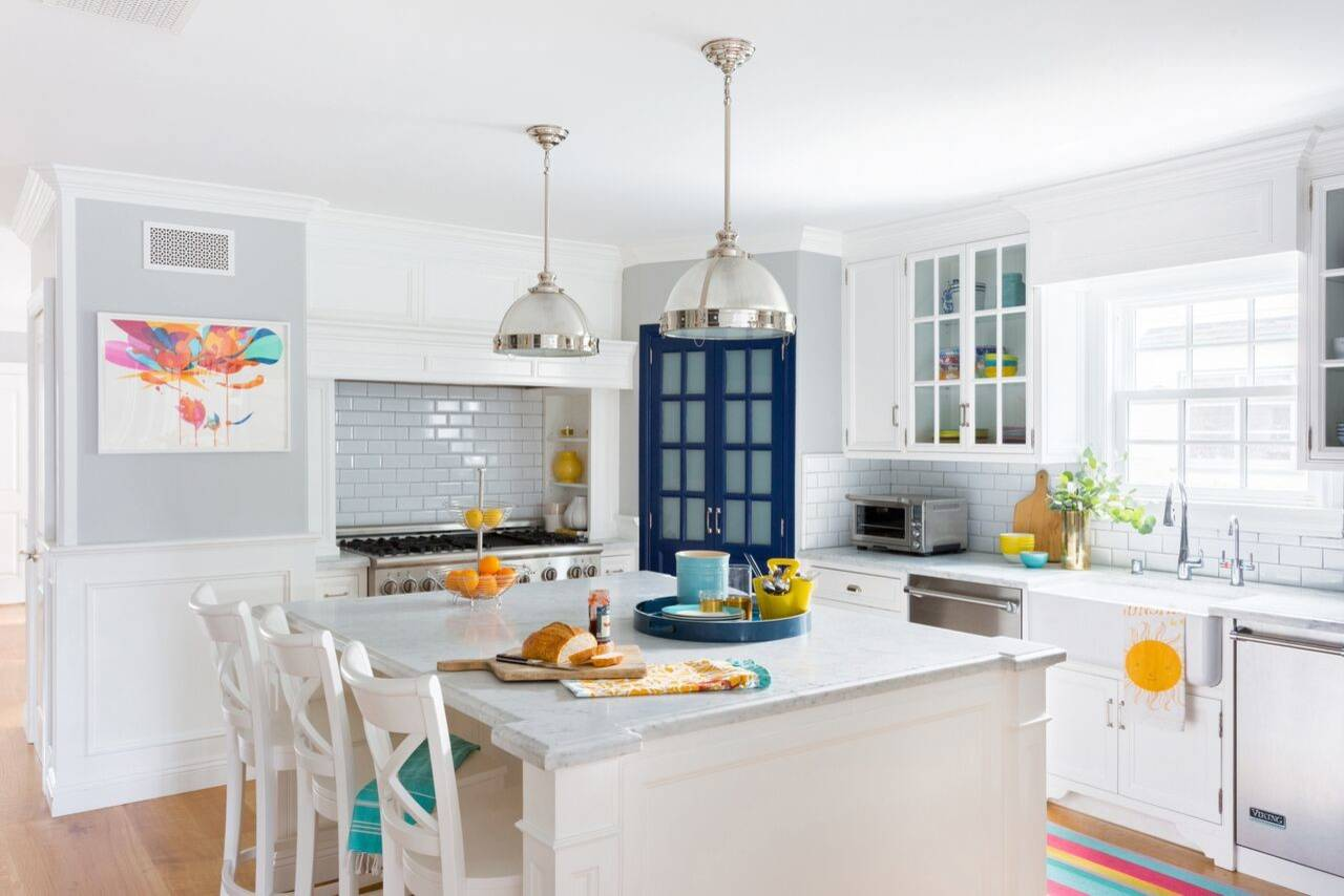 Vibrant and Cheerful Silver Lake Kitchen