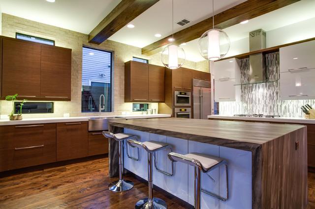 Vickery Avenue Dallas, TX contemporary-kitchen