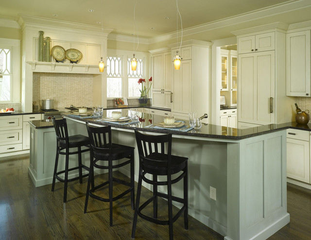 Vickery Residence traditional-kitchen