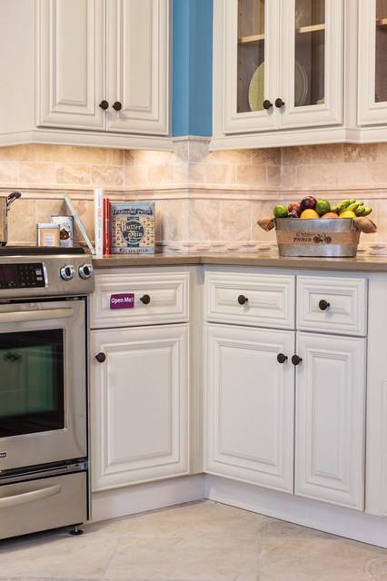 Victoria Ivory Kitchen Cabinets - Traditional - Kitchen - baltimore ...