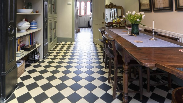Victorian Geometric Flooring In Period Home Victorian
