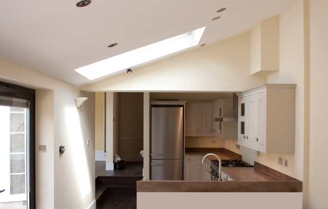 Victorian house extension for Traditional kitchen extensions