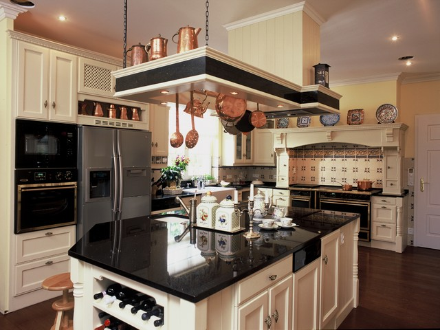 Victorian traditional kitchen other metro by hs for Traditional victorian kitchen designs
