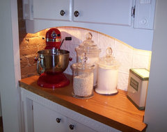 victorian kitchen remodel pantry wall traditional-kitchen