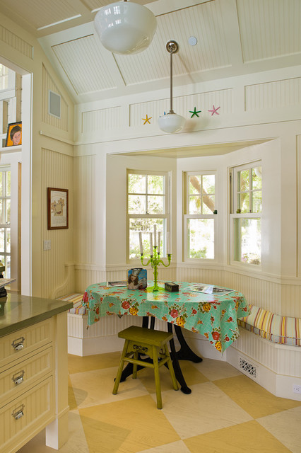Victorian Pool House eclectic kitchen