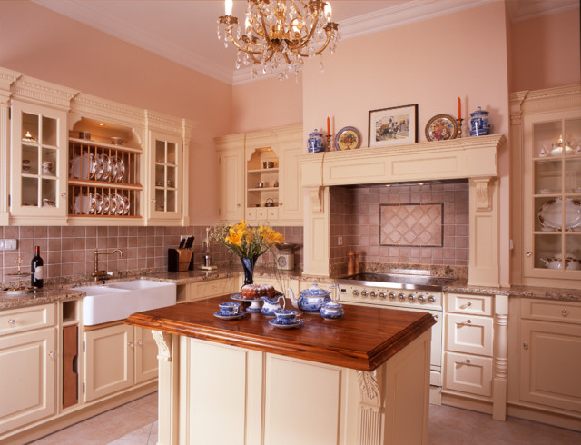 Victorian style traditional kitchen other metro by for Victorian style kitchen