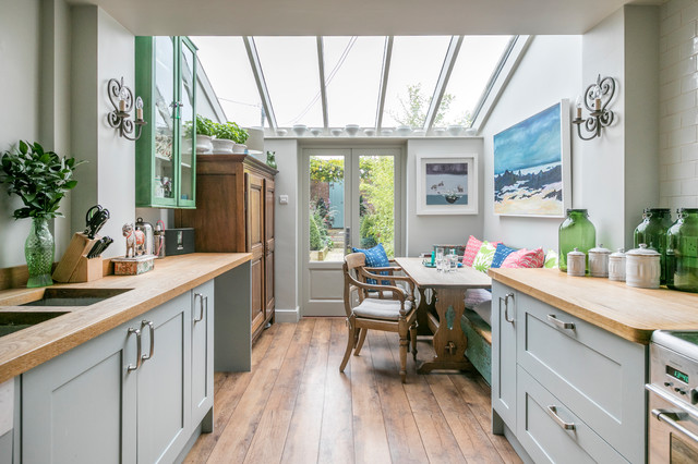 Victorian Terrace Kitchen Country Kitchen Hampshire By The Gilded Cabinet Houzz Ie
