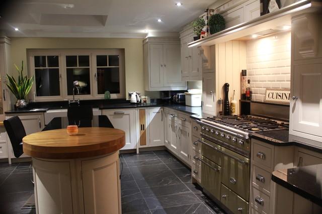 Victorian Town House Kitchen traditional-kitchen