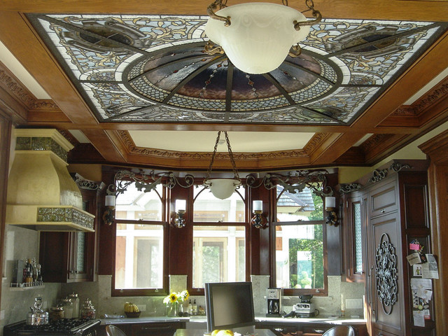 Victorian traditional to victorian modern traditional for Traditional victorian kitchen designs