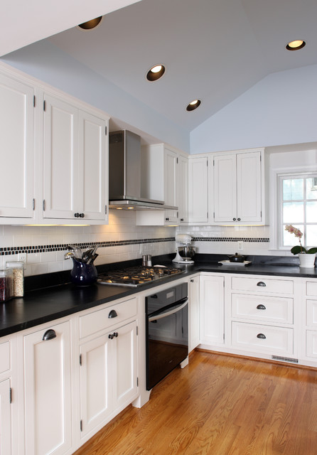 View of Kitchen Contemporary Kitchen dc metro by