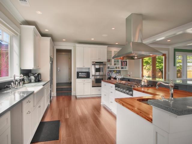Viewridge Craftsman contemporary-kitchen