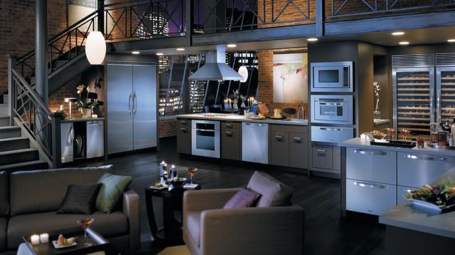VIKING contemporary-kitchen