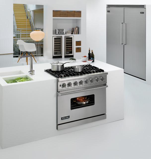 Viking kitchens modern kitchen los angeles by for Viking kitchen designs
