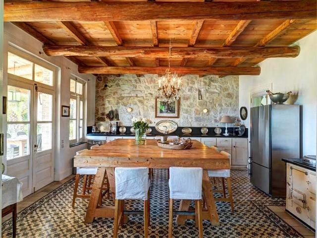 Villa Cecilia mediterranean-kitchen