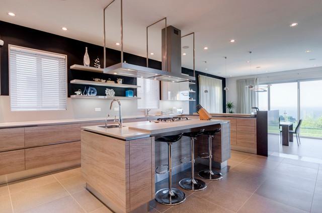 Villa in Madliena contemporary-kitchen
