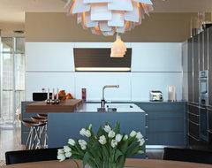 Villa Nuevo contemporary-kitchen