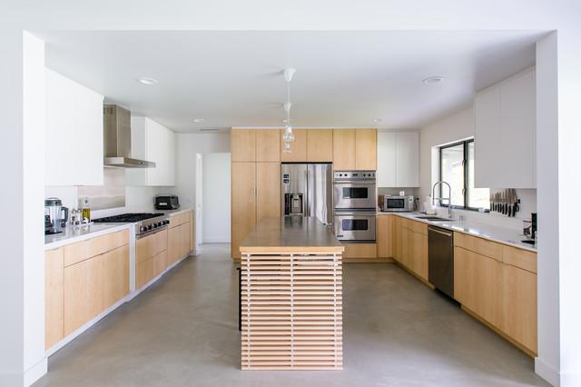 Villa Park Modern Contemporary Kitchen Orange County By Moss Yaw Design Studio