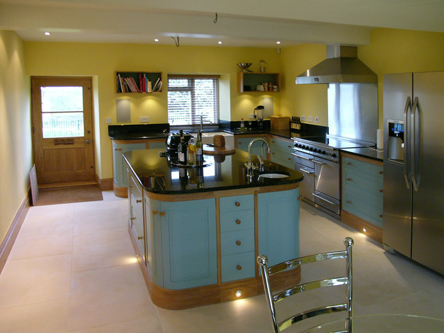 Village House Kitchen Contemporary Kitchen Other By Baily Design