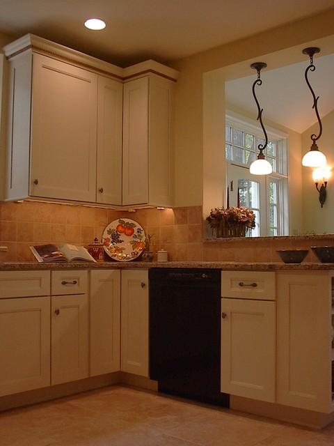 Villanova Carriage House Kitchen traditional-kitchen