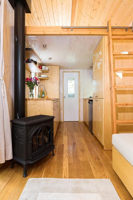 Vina's Tiny House contemporary-kitchen