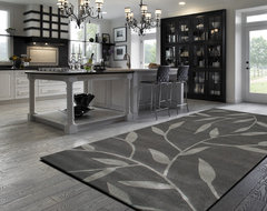 Vineworx rug in a contemporary kitchen contemporary-kitchen