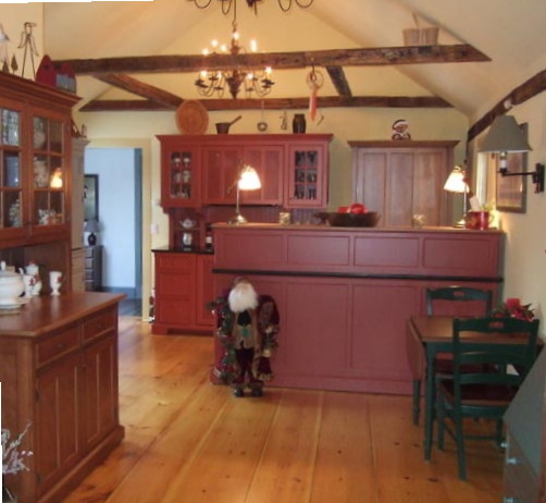Kitchen Classical Colonial Kitchen Design With Island For: Vintage Colonial Kitchen