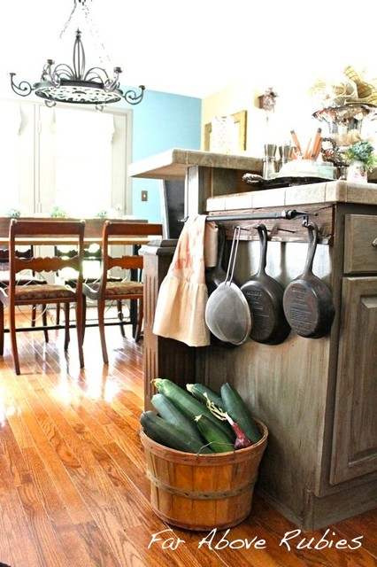 Vintage cottage kitchen eclectic-kitchen