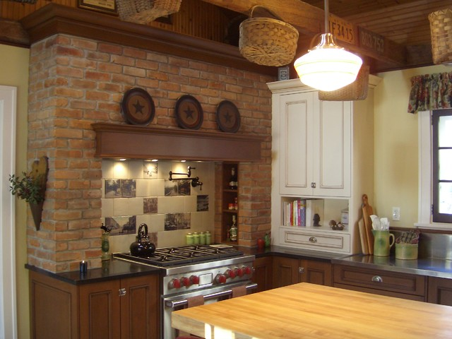 Vintage Country traditional-kitchen