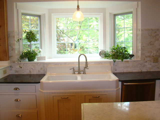 Vintage Farm Sink purchased on ebay Traditional Kitchen St Louis by I