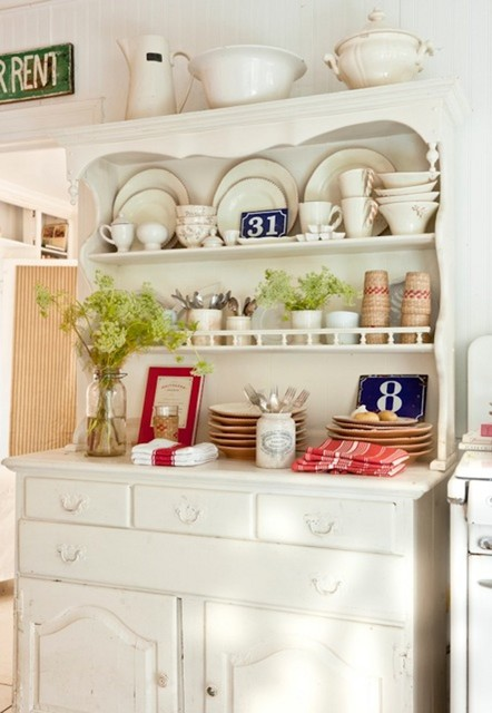 Vintage-Inspired Inglewood Cottage - Shabby chic - Kitchen - los angeles - by tumbleweed and ...
