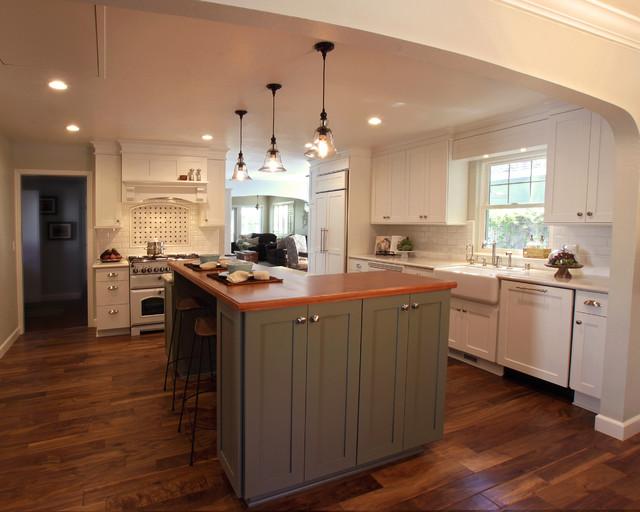 Vintage Inspired Kitchen farmhouse-kitchen
