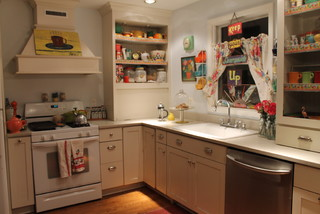 Vintage Inspired Kitchen Kitsch For Sure Eclectic Kitchen Chicago