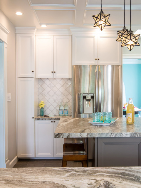 Vintage Modern California Cottage Traditional Kitchen Los Angeles By Sh Interiors Houzz Ie