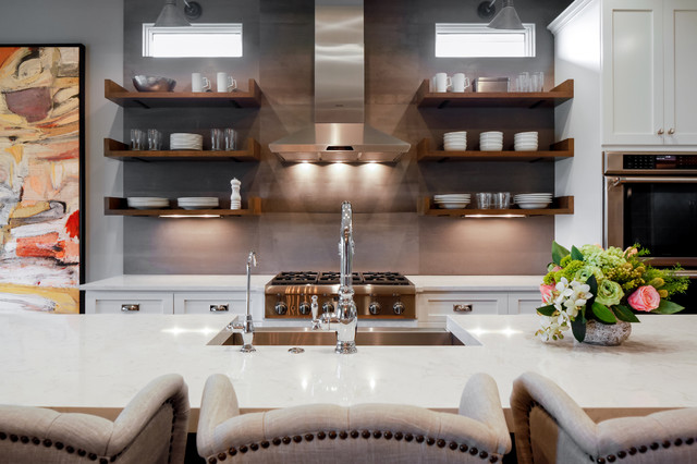 Vintage Modern Home Eclectic Kitchen Omaha By Falcone Hybner Design Inc