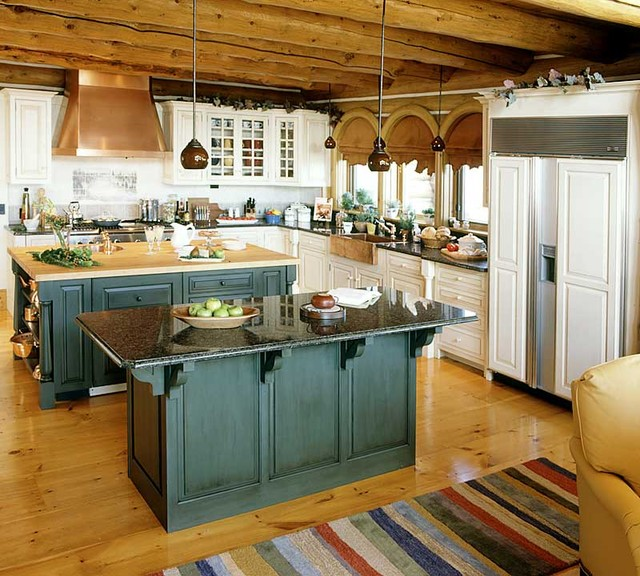 Vintage unfitted kitchen design - Vintage kitchen ...