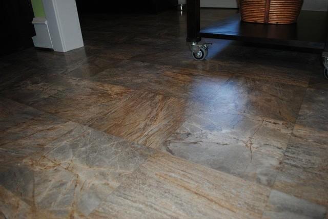 Vinyl Floor modern-kitchen