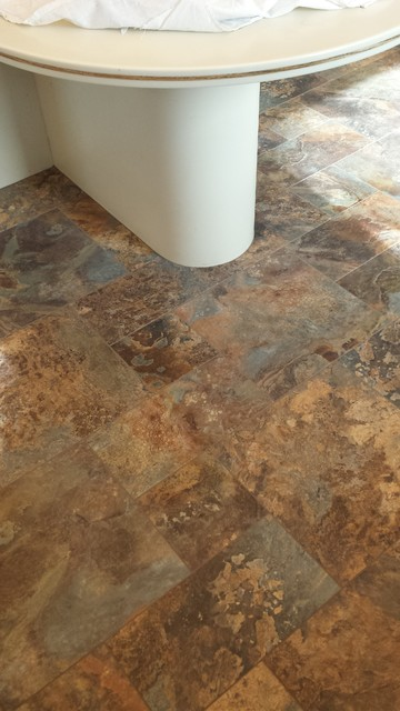 Vinyl Tile From Armstrong Alterna Modern Kitchen