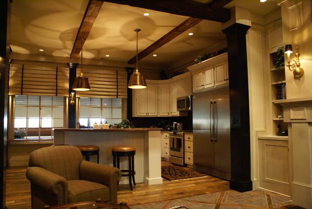 Virginia Equestrian Facility traditional-kitchen
