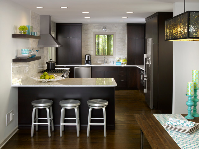 Virginia Highlands Remodel Contemporary Kitchen Atlanta By Settle Design