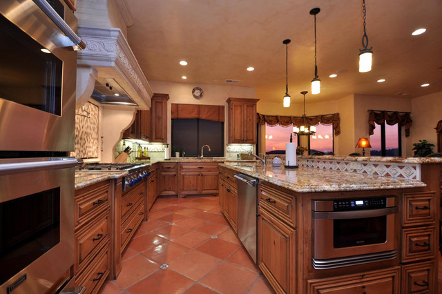 Vista Del Lago (Lot 2) mediterranean-kitchen
