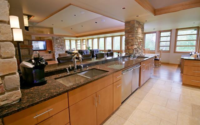 Vitas Prairie-style - Contemporary - Kitchen - milwaukee ...