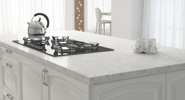 Victoria Quartz - Modern - Kitchen - phoenix - by Arizona Tile