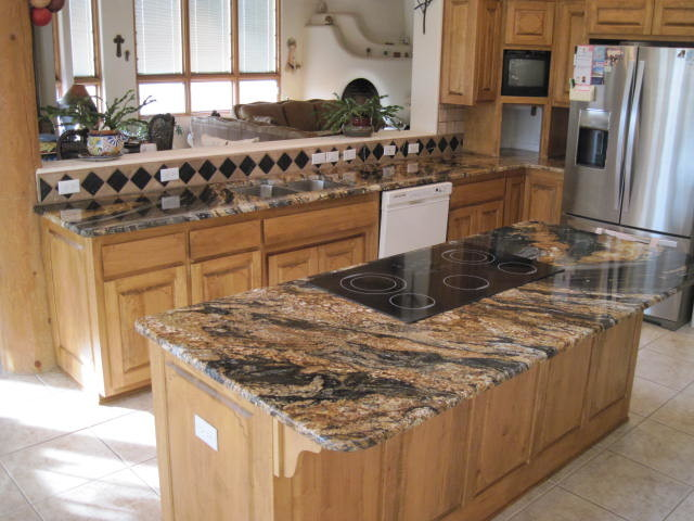 volcano granite kitchen countertops